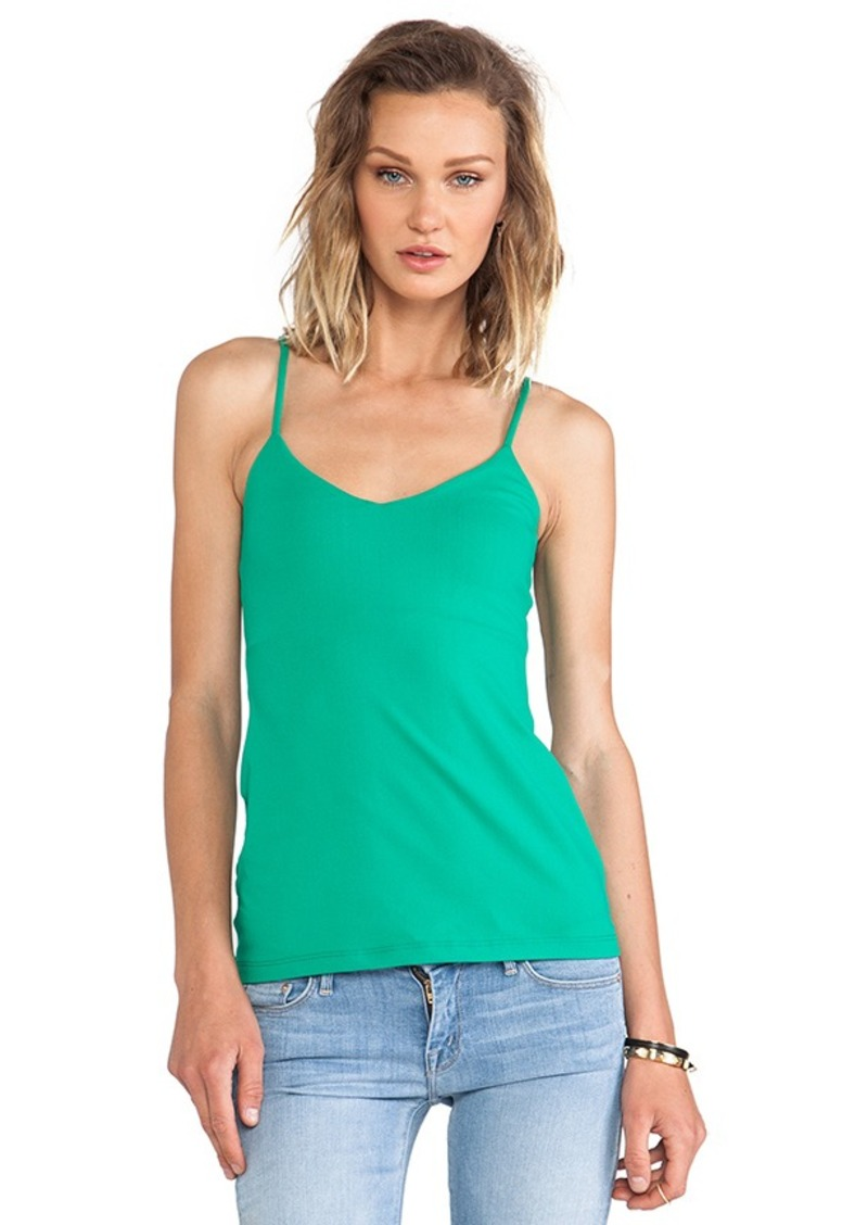 Susana Monaco Very V Tank in Green