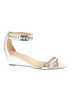 Lillian mirror metallic lattice low wedges