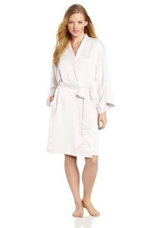 Natori Women's Solid Charmeuse Essentials Robe