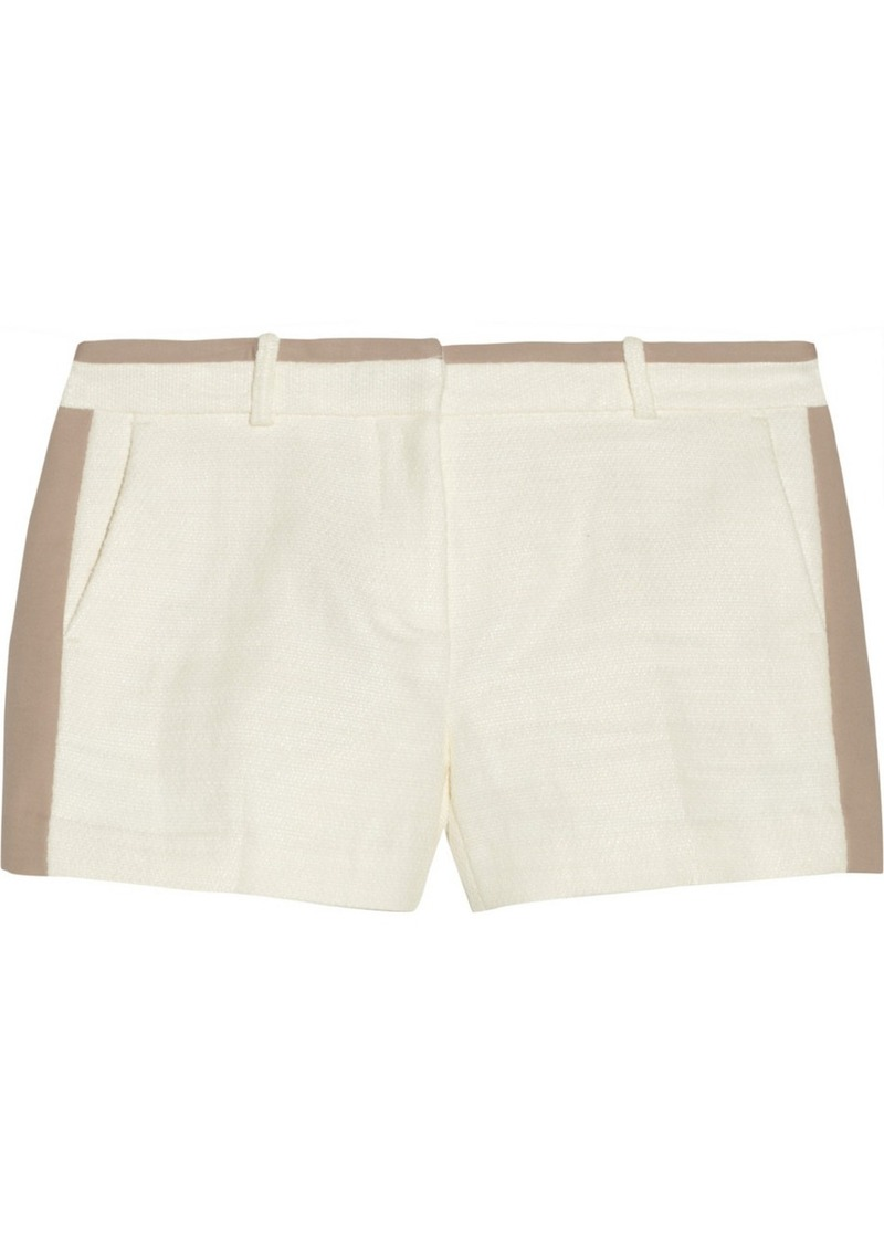 MICHAEL Michael Kors Two-tone woven shorts