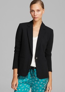 MICHAEL Michael Kors Stretch Fitted Jacket