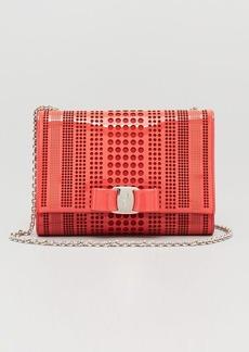 Salvatore Ferragamo Mini Bag - Patent Miss Vara Bow