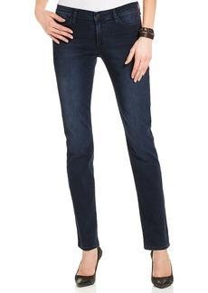 Calvin Klein Jeans Straight-Leg Jeans, Deep Ocean Wash