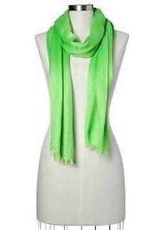 Lightweight solid scarf