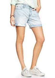 1969 destructed sexy boyfriend denim shorts