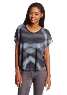 Calvin Klein Jeans Women's Printed U Neck Tee