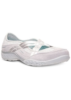 Skechers Women's Relaxed Fit Breathe Easy Lay Low Memory Foam Casual Sneakers from Finish Line