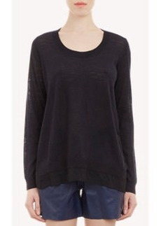 "Joie Two-Tone ""Cayce"" Sweater"