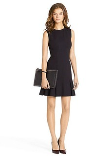 Jaelyn Sleeveless Flared Knit Dress