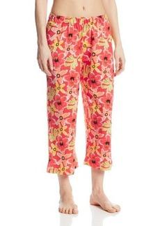 Hue Sleepwear Women's Kiana Floral Capri