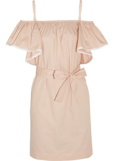 Chloé Ruffled cotton dress