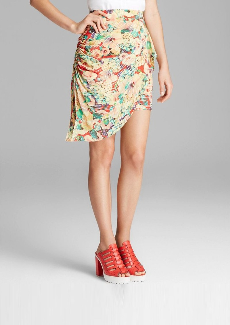 Nanette Lepore Skirt - Forever Falling Fantasy Floral Print