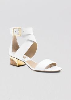 Michael Kors City Sandals - Tulia Block Heel