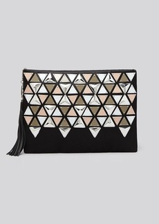 Rafe New York Clutch - Large Celia Beaded Zip