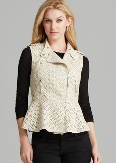 GUESS Vest - Lauren Faux Leather
