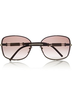 Givenchy Square-frame metal and acetate sunglasses