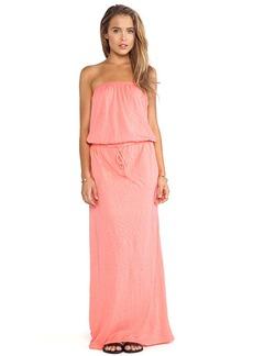 C&C California Maxi Dress in Coral