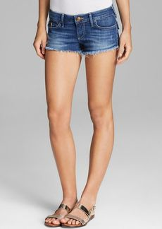 True Religion Shorts - Joey Cutoff with Flap Pocket in Broken Heart