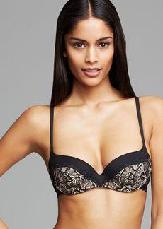 Calvin Klein Underwear Black Label Lace Contour Balconette Bra #F3687
