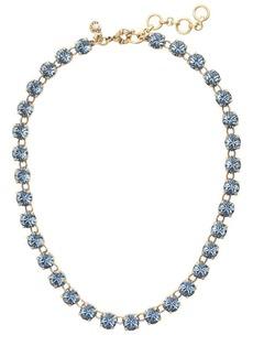 Swarovski crystal dot necklace