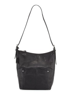 Frye Renee Leather Bucket Bag, Black
