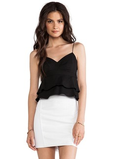 Nanette Lepore Guilty Pleasure Crop Top in Black