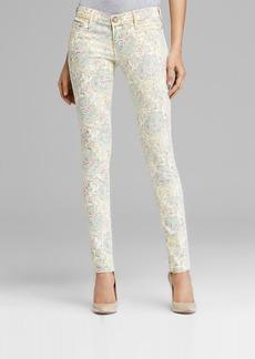 True Religion Jeans - Chrissy Skinny in White Paisley