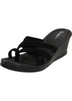 Skechers Women's Rumblers-Beautiful People Flip Flop