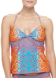 Honey Printed Tankini Top   Honey Printed Tankini Top