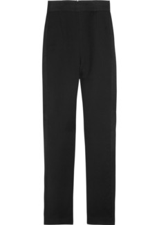Emilio Pucci Cropped twill straight-leg pants