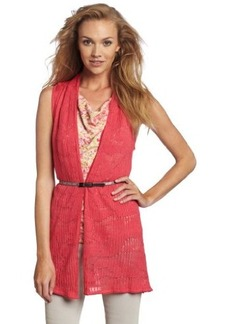 Jones New York Women's Belted Vest