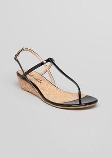 Splendid Sandals - Edgewood T Strap Demi Wedge