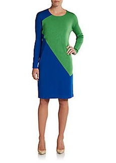 Calvin Klein Collection Lyra Colorblock Dress