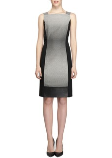 Lafayette 148 New York Saturnine Cloth Sleeveless Sheath Dress