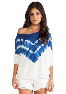 Joie Emari C Tie Dye Print Pullover in Blue
