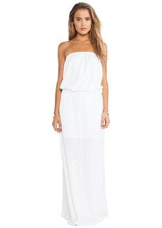 C&C California Maxi Dress in White