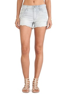 Joe's Jeans High Rise Cut Off Short in Anica