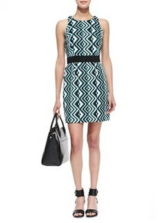 Ana Geo-Print Sheath Dress   Ana Geo-Print Sheath Dress