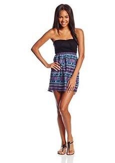 Roxy Juniors Savage Tube Combo Dress