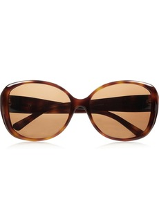 Givenchy Round-frame tortoiseshell polarized sunglasses