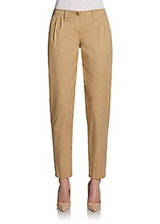 Burberry Brit Pleat-Front Slim Pants