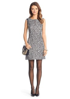 Yvette Tweed A-Line Mini Dress