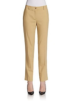 Michael Kors Cropped Wool Samantha Pants