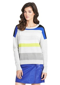 Shell Striped Cashmere Sweater