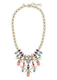 Jeweled color burst necklace