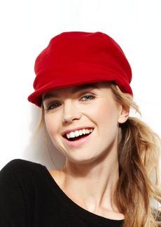 Style&co. Fleece Newsboy Hat
