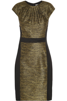 Jason Wu Silk-blend jacquard mini dress