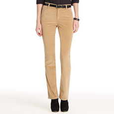The Straight Leg Jean in Stretch Cord (Plus)