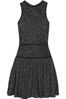 Tibi Stretch-knit mini dress