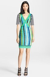 Tracy Reese Print Jersey Dress